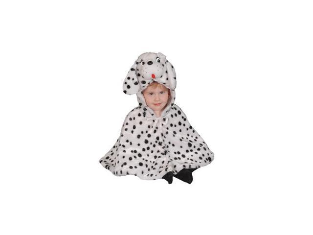Brave Little Dalmatian Infant Cape Costume Size 12-24mo.