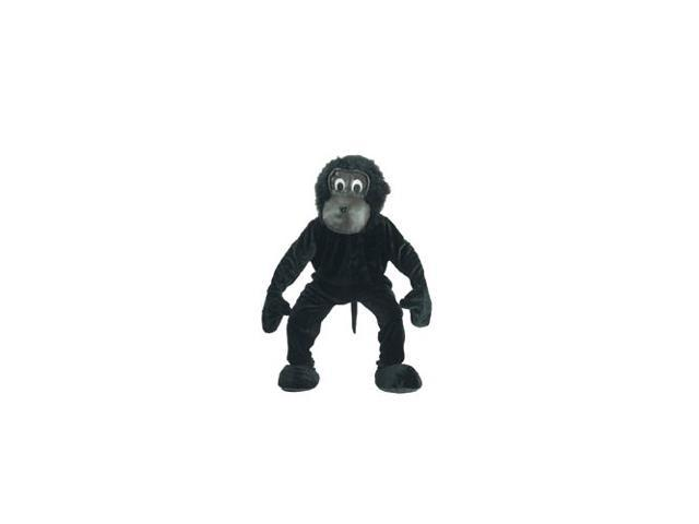 Gorilla Mascot Adult Costume One Size