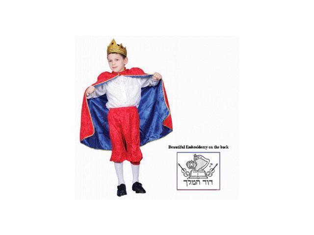 Deluxe King David Child Costume Set Size 8-10 Medium