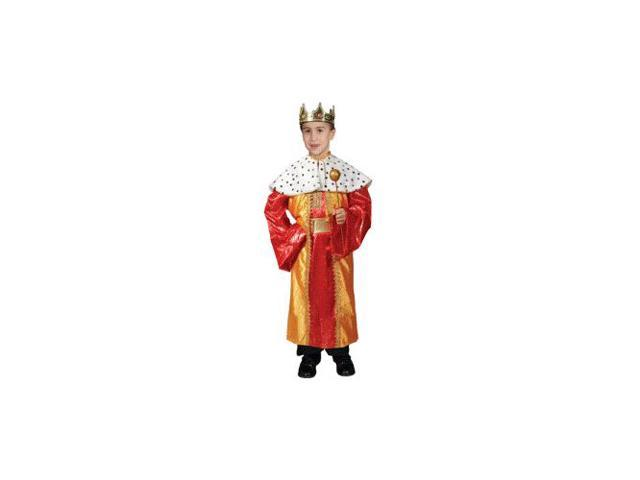 Deluxe King Child Costume Set Size 12-14 Large