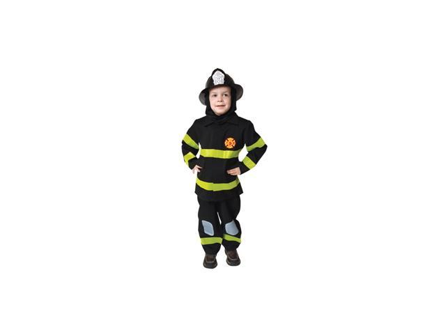 Fire Fighter No Hat Medium 8-10 Costume