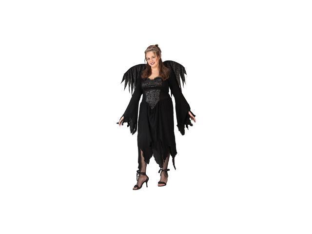 Women39s Plus Size Black Rose Fairy Costume Neweggcom  sc 1 st  Meningrey & Plus Size Fairy Halloween Costumes - Meningrey