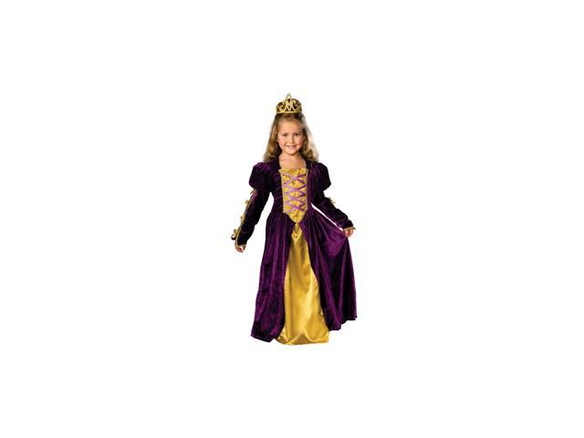 Regal Queen Child Costume Size 12-14 Large