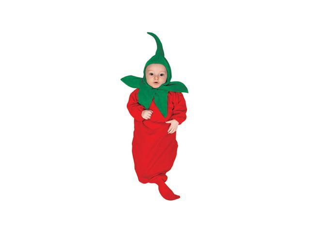 Chili Pepper Infant Bunting Costume Size 0-6 months