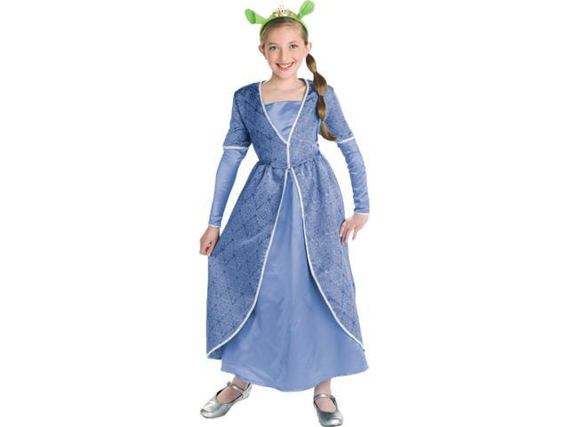 Shrek - Fiona Deluxe Child Costume Size 12-14 Large