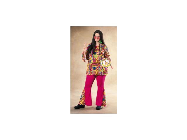 Adult Plus Hippie Mama Costume Rubies 17228