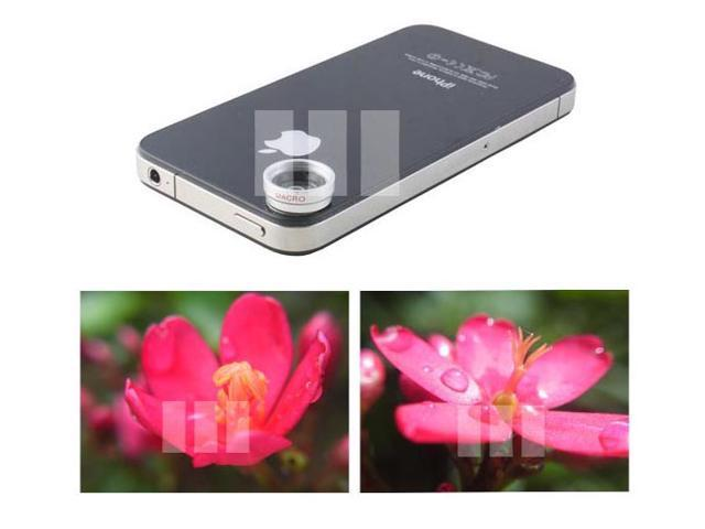 Close Up Macro Lens for Smartphone Smart Cell Phone Tablet Pocket Camcorder Apple iPad 4 3 Mini iPod Touch iPhone 5 4S 4 3 Sony Xperia Tablet S Z ZL ZR HTC One X+ Mini Butterfly S LG Optimus G Pro LTE