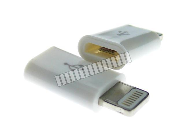 Converter for Micro USB Female to Apple 8 Pin Lightning Male Data Sync and Charge Adapter for Apple iPhone 6 Plus 6+ 6 5S ...