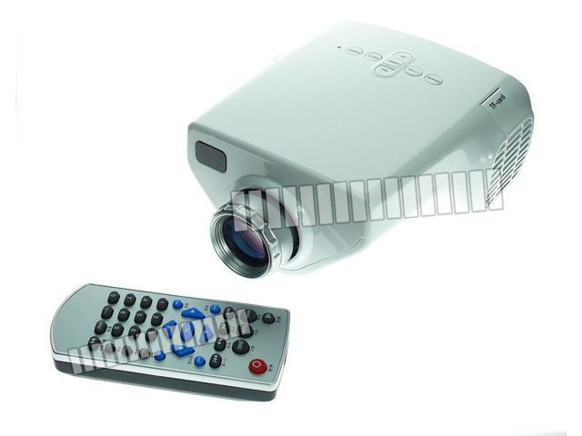 Portable projector small light multi input hdmi vga micro for Portable projector with usb input