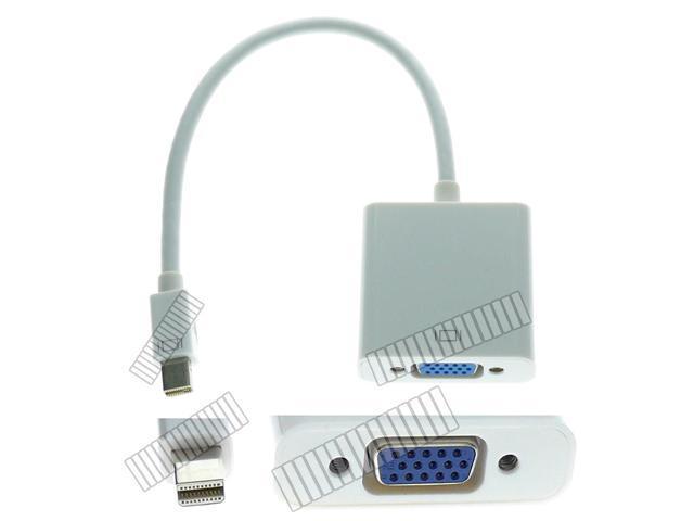 Short Adapter Cable Mini DisplayPort Mini DP Thunderbolt Male to VGA Female Converter Connector for Apple Mac Pro Mini iMac ...