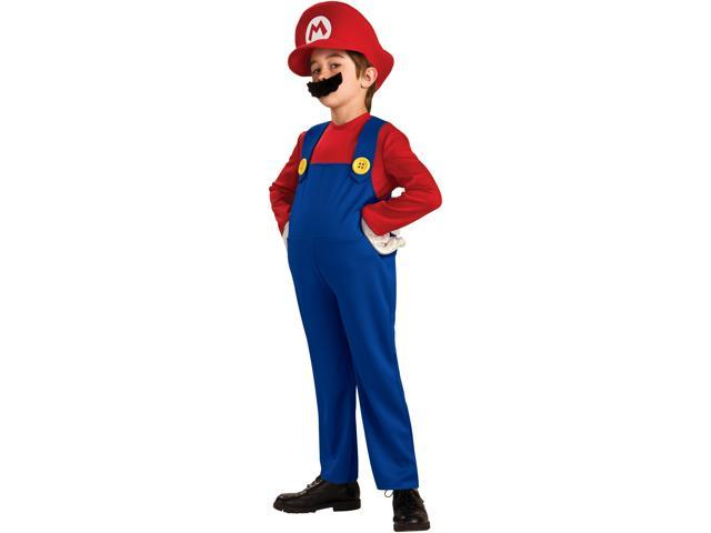 Deluxe Mario Toddler/Child Costume