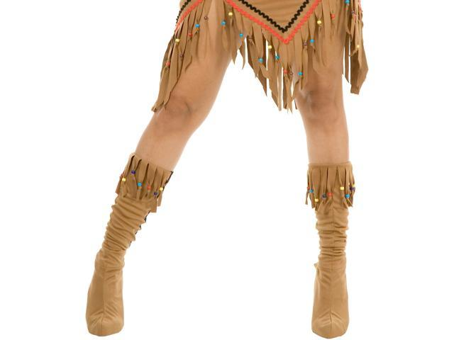 Indian Maiden Suede Adult Boot Covers