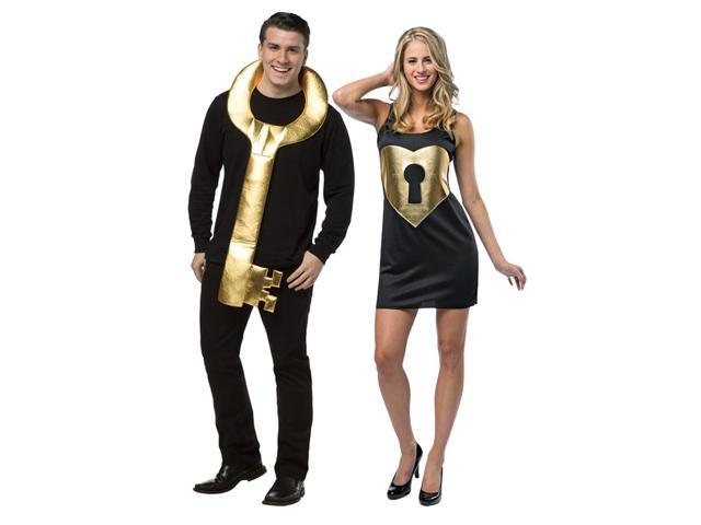 Key To My Heart Couples Adult Costume