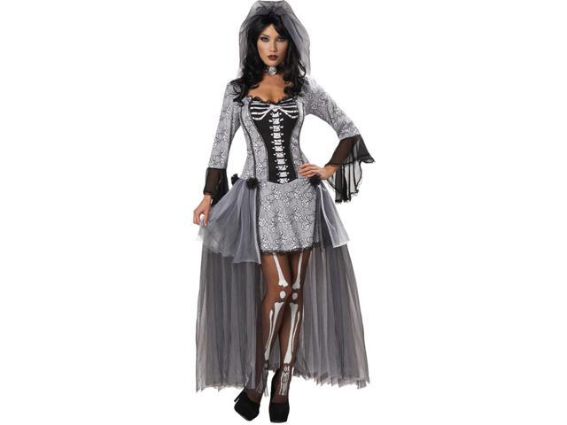 Skeleton Bride Adult Costume