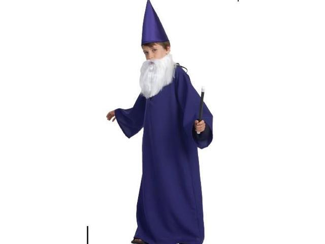 Purple wizard costume