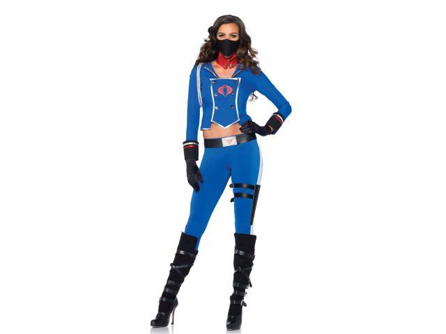 GI Joe Cobra Girl Adult Costume