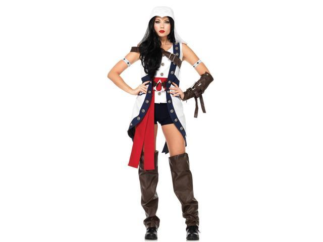 Assassins Creed Conner Female Adult Costume