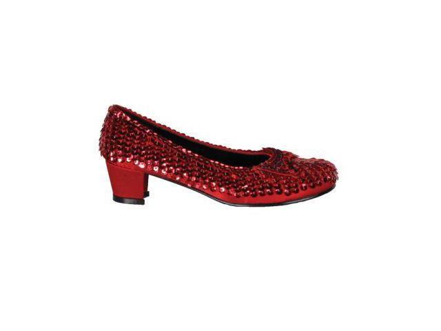Shoe Sequin Rd Child Small Accessory