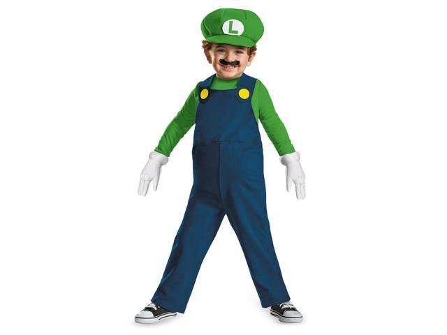 Luigi Toddler Costume