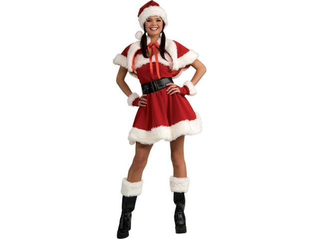 Velvet Sexy Miss Santa Costume