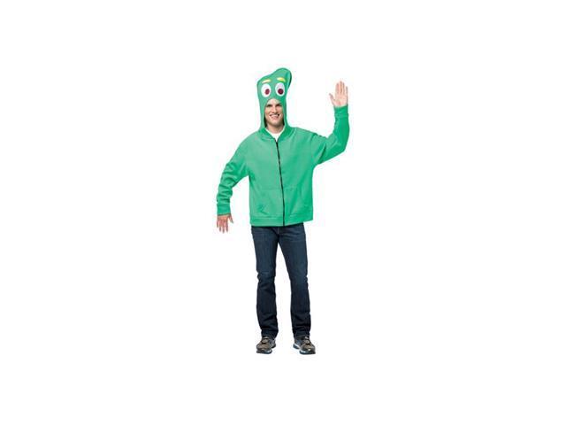 Gumby Hoodie Adult Costume