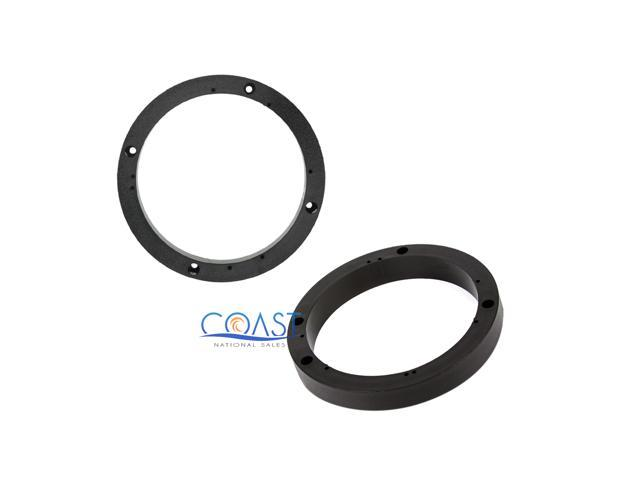 Plastic Ring Spacers : Metra universal inch plastic spacer rings for