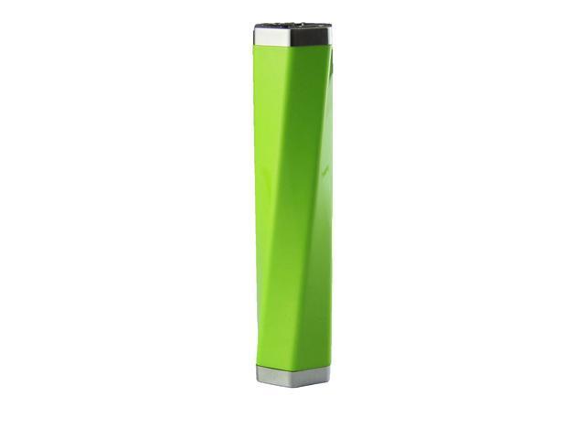 CBD 2600mah LA112 Light Green Portable Supply External USB Backup Battery Charger Power Bank For Smartphone  LG  HTC  Sony