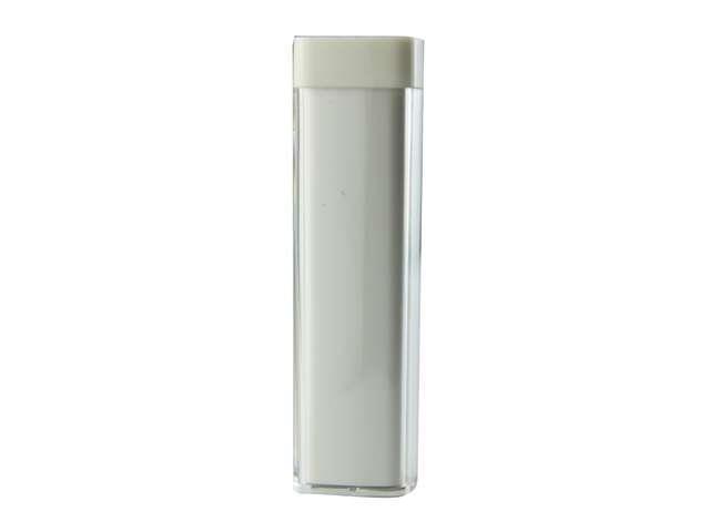 CBD 2600mah LA111 White Portable Supply External USB Backup Battery Charger Power Bank For Samsung  Motorola  Blackberry