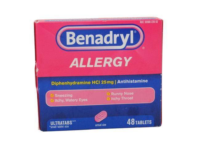 Benadryl Dosage - Allergies Home Page