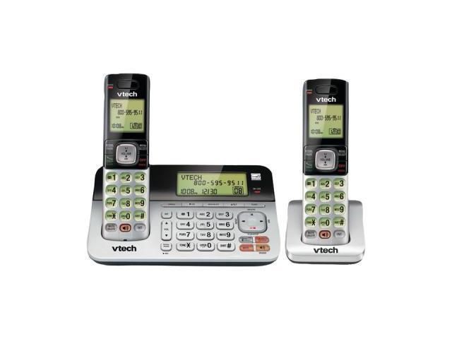 VTECH VTCS6859-2 DECT 6.0 Duplex Handset/Base Speakerphone