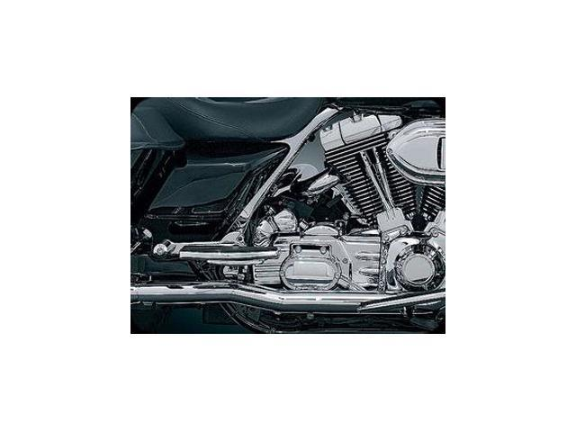 Kuryakyn 516 Crusher True Duals (Head Pipes only) for Harley 10-13 Touring by KURYAKYN