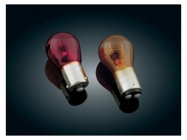Kuryakyn 4813 Amber Turn Signal Bulb For Harley-Davidson by KURYAKYN