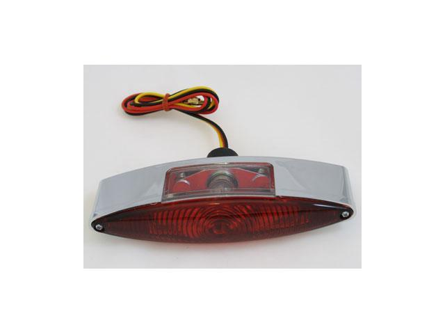 BKRider Thin 6-1/2 Wide Cateye Taillight For Harley-Davidson by BK RIDER