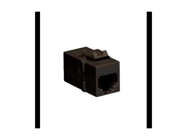 ICC ICC-IC107C6RBK MODULE COUPLER RJ-11 PIN 1-1 BLACK