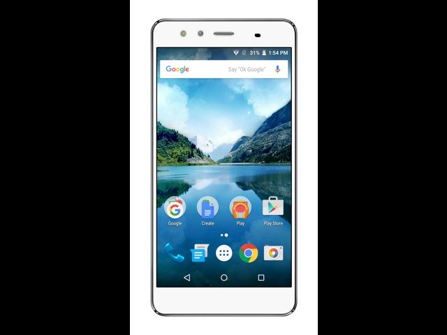 FIGO Atrium 5.5 - Dual Micro SIM Unlocked 16GB Smartphone - US & International GSM 4G LTE (White)