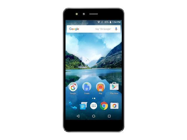 FIGO Atrium 5.5 - Dual Micro SIM Unlocked 16GB Smartphone - US & International GSM 4G LTE (Black)