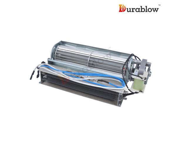 durablow electric fireplace replacement blower fan unit infrared heating elements compatible. Black Bedroom Furniture Sets. Home Design Ideas