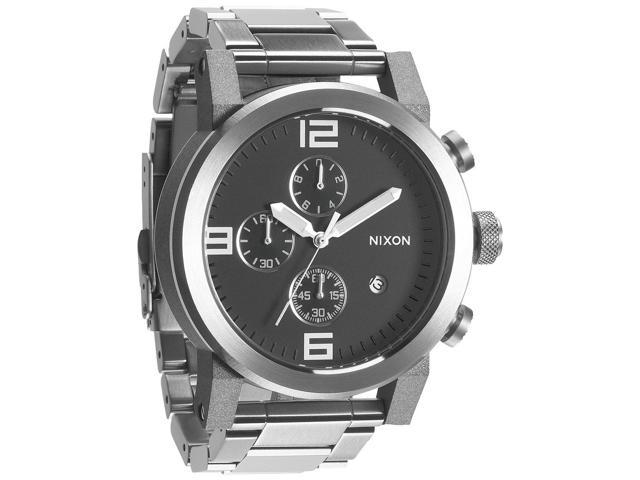 Nixon Mens Ride Stainless Steel Chronograph Watch