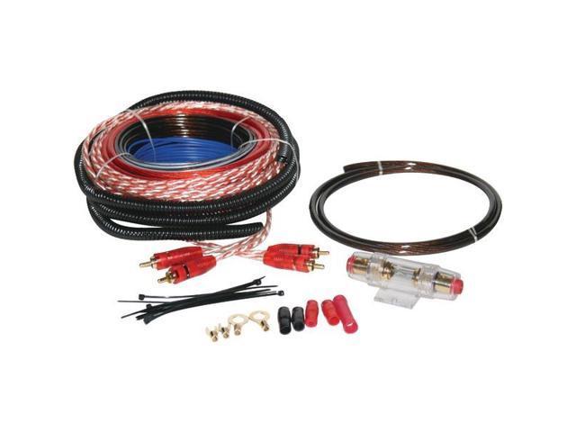 Soundquest Sqk8 Copper-clad Aluminum Amp Wiring Kit (8 Gauge)