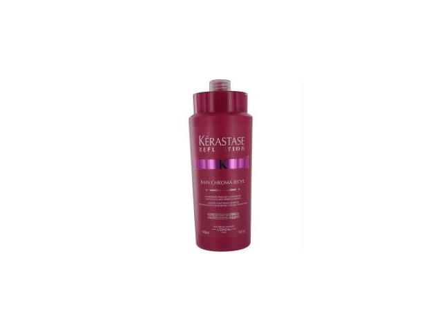 Reflection Bain Chroma Riche Shampoo by Kerastase for Unisex - 34 oz Shampoo