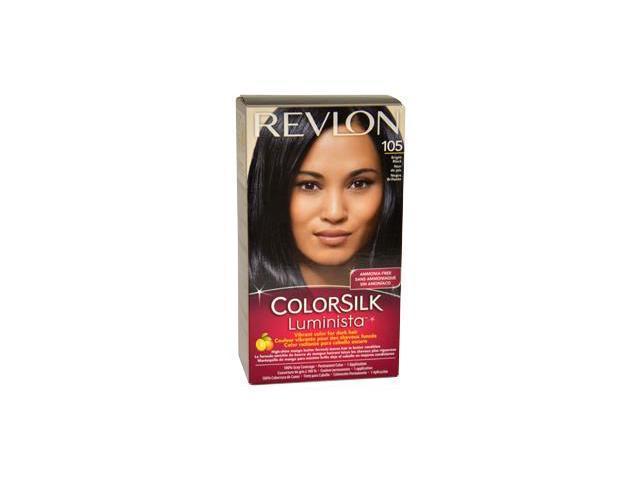 Revlon W-HC-1064 Colorsilk Luminista No.105 Bright Black - 1 Application - Hair Color