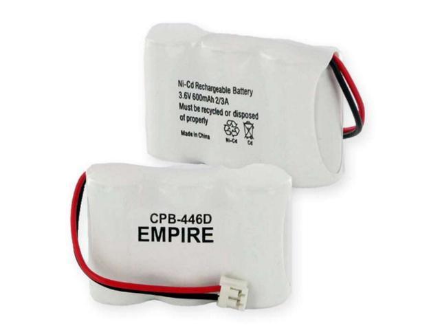 Empire Battery CPB-446D Replaces 1X3-2/3AF NCAD 600mAh/D CONNECTOR