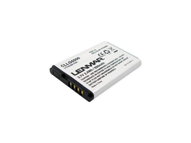 Lenmar 650 mAh Replacement Battery for LG VX8350, VX5400 CLLG5500