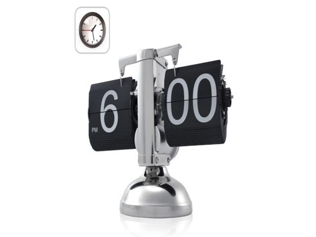 Retro Desk Flip Down Clock - Internal Gear Operated