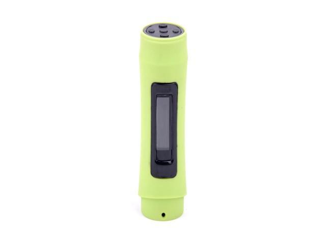 LCD Sport waterproof MP3 player with FM function swimmer mp3 player built-in memory 8GB light green color