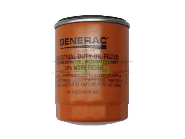generac guardian oem generator oil filter 070185es orange. Black Bedroom Furniture Sets. Home Design Ideas