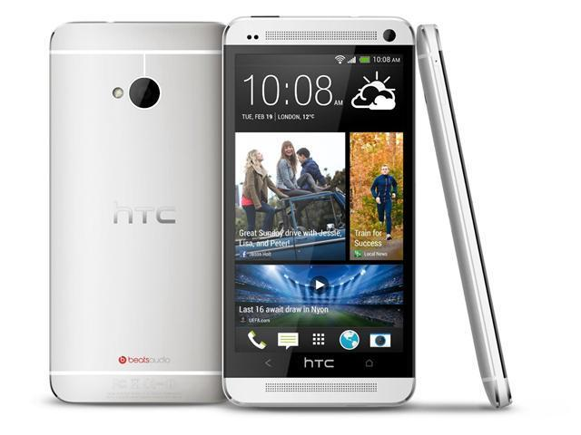 HTC ONE M7 Silver - Factory Unlocked - International Version, 4.7-inch Super LCD 3 ,Quad-core 1.7ghz