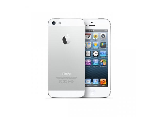 Apple iPhone 5S Silver LTE 32GB Unlocked Cell Phone