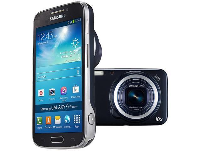 Samsung Galaxy S IV Zoom SM-C101 BLACK(Unlocked) GSM Smartphone