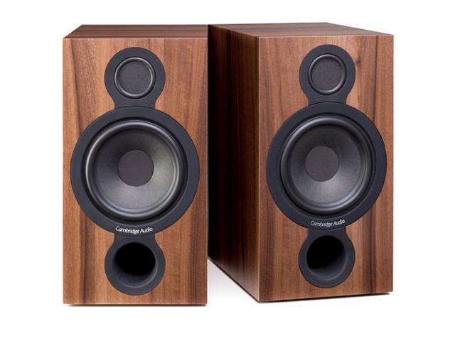 Cambridge Audio Aero-2 Bookshelf Speakers - Walnut Pair